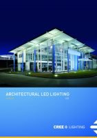 ARCHITECTURAL OUTDOOR LED LIGHTING